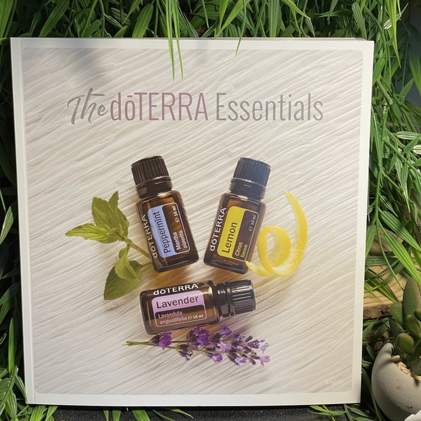 Doterra Essentials Book of Reference Oils for Product Reference ✅ New