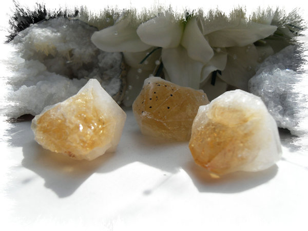 Ex-small Citrine Point 'TINY'