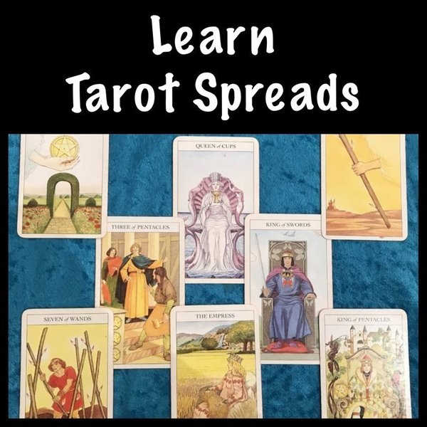 18 Weeks Online Tarot Spreads Course