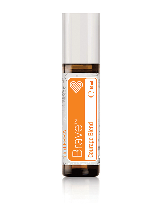 Brave - Courage Blend Touch Essential Oil Blend 10ml Roll On Bottle by doTERRA